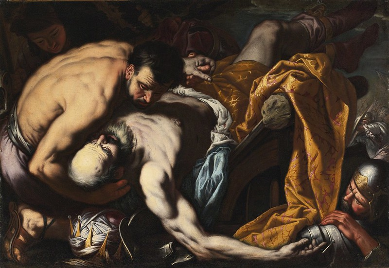Antonio Zanchi - The death of King Josiah