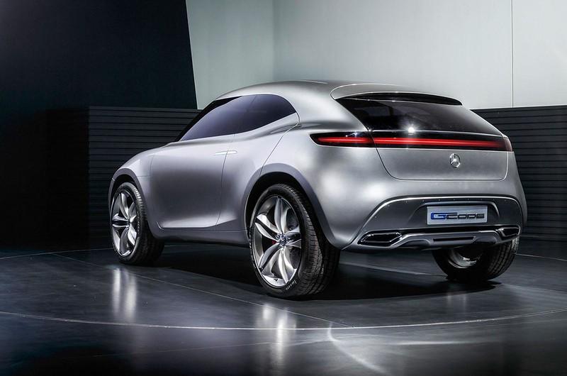 Концепт Mercedes-Benz G-Code