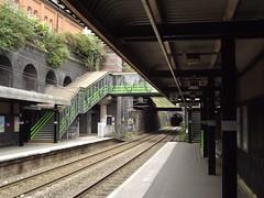 Five Ways Station - Footbridge
