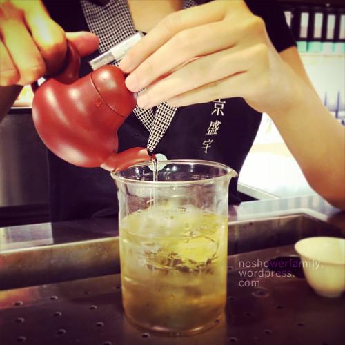 freshly-made tea