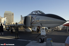 153880 NL-104 - 2466 - US Navy - McDonnell Douglas F-4S Phantom II - USS Midway Museum San Diego, California - 141223 - Steven Gray - IMG_6593
