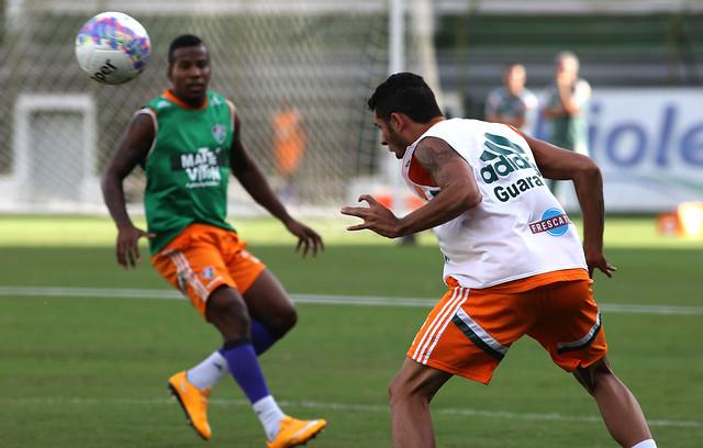 Fluminense: De olho no Fla-Flu, Ricardo Drubscky comanda treino técnico nas Laranjeiras