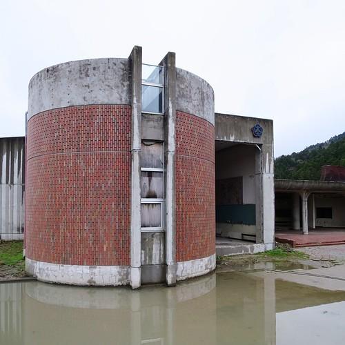 昔、小学校だった場所。