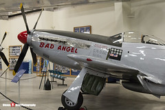 44-63272 C - 122-30997 - Bad Angel - USAF - North American P-51D Mustang - Pima Air and Space Museum, Tucson, Arizona - 141226 - Steven Gray - IMG_8904