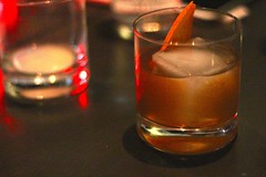whisky(0.0), sazerac(0.0), lighting(0.0), beer(0.0), alcohol(1.0), old fashioned(1.0), distilled beverage(1.0), liqueur(1.0), negroni(1.0), drink(1.0), cocktail(1.0), grog(1.0), alcoholic beverage(1.0),