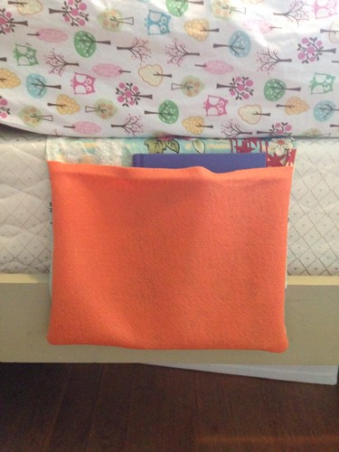 book pocket - sewing class project