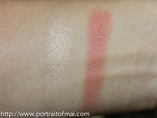 nars dual intensity blush in frenzy swatch (2 of 2)