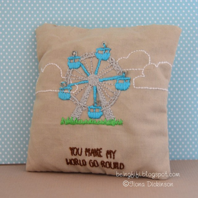 Admit One Lavender Bag