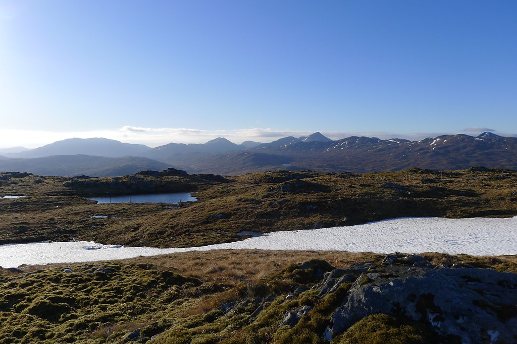 Arrochar from Beinn Chas