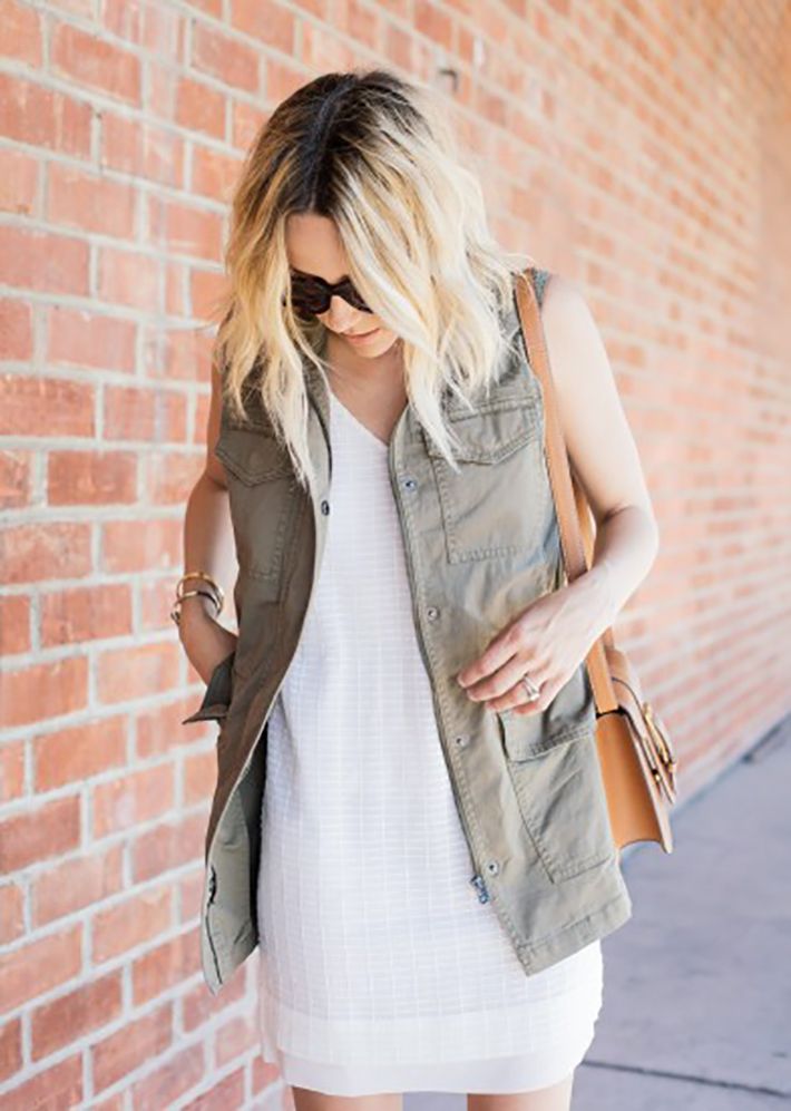 Military style green olive street style inspiration08