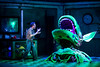 Ben Stott as Seymour in Little Shop of Horrors at Salisbury Playhouse