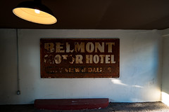 Belmont Motor Hotel Sign
