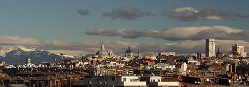 2016 Madrid desde terraza