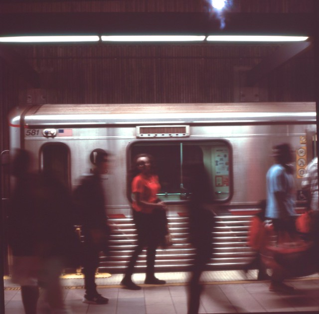 The Metro Shuffle (brought to you by the color red).