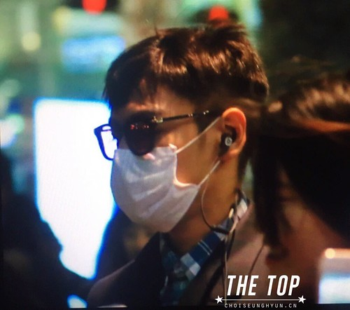 Big Bang - Incheon Airport - 03dec2015 - The TOP - 04