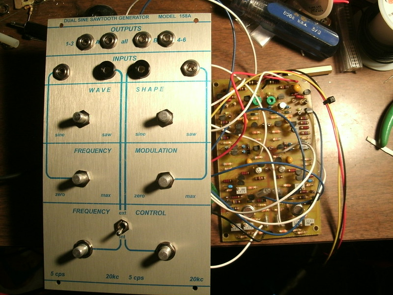 Buchla 158A Front Panel Error