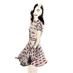 @_narces at @wmcfashionweek . Tornonto Fashion Week. Fall/Winter 2015. #WMCFW #CanadianCollections #Narces #aw15 #illustration #fashionillustration #runway