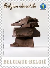 07 Le chocolat belge Timbre 2