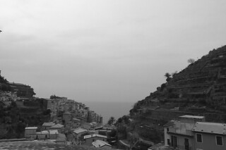 Manarola - View of sea
