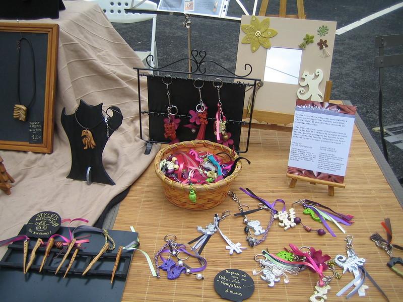 Exposition au marché artisanal de Tardy 2013