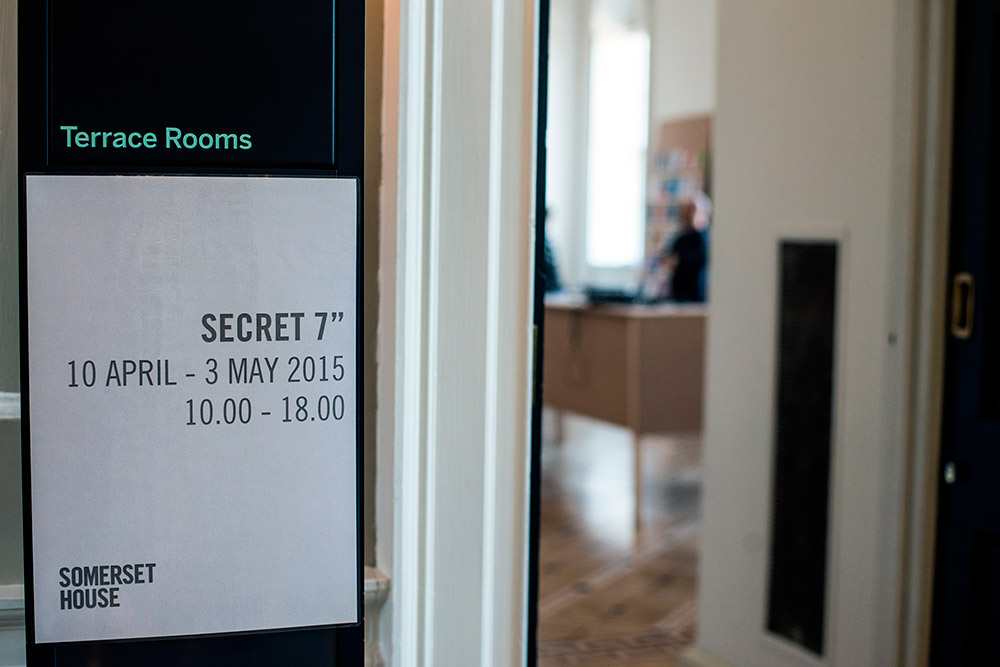 "Secret 7"" Exhibition @ Somerset House"