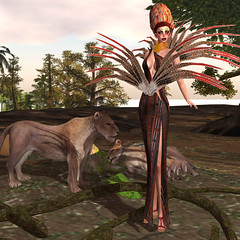 LuceMia - Immortals Avatars for Fashion for Change 2015