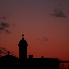 Last Sunset Of Winter