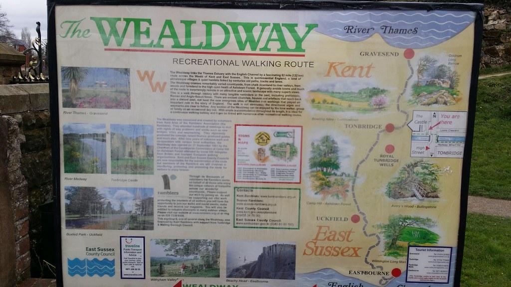 Wealdway info board #Wealdway #sh