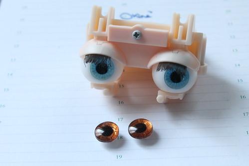 Handpainted eyeship... I finaly did it! Yeaaah! ^^
