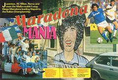 Maradona Mania #DiegoMaradona #Napoli #Argentina #Shoot! 1987-06-13