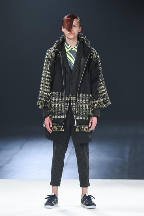 FW15 Tokyo yoshio kubo002_Art Gurianov(Fashion Press)