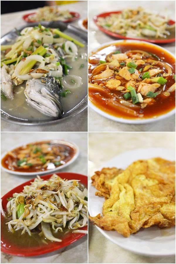 Dinner at Sabar Menanti