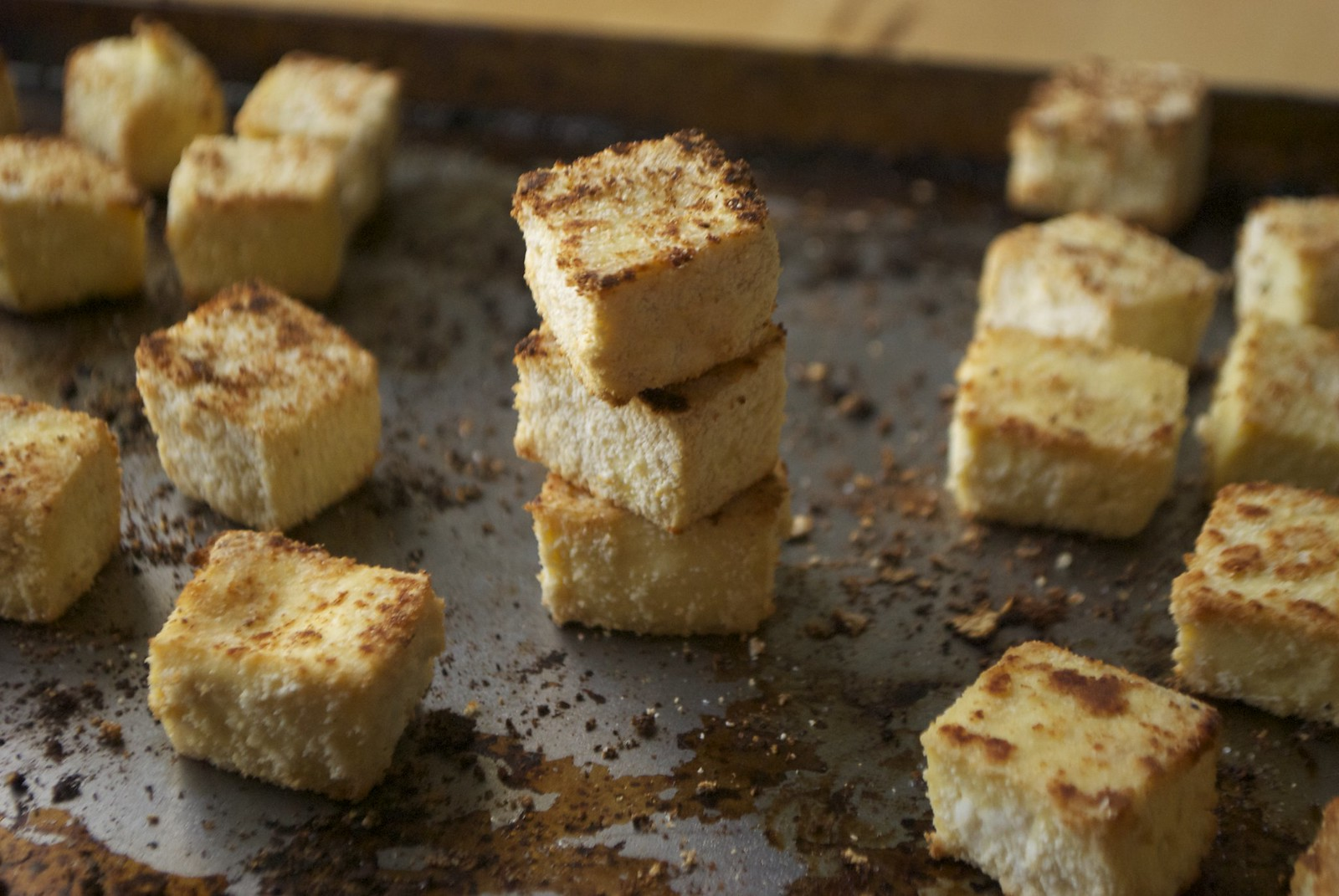 Crispy Baked Tofu | Kitchen in the Hills