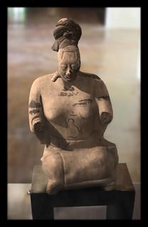 Calakmul MEX - terracotta figurine