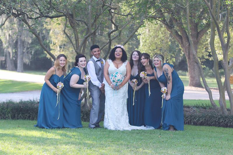 Baton Rouge garden wedding from @offbeatbride