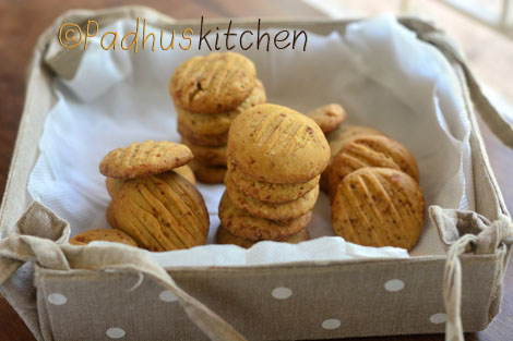 barnyard millet cookies-Kuthiraiwali biscuits