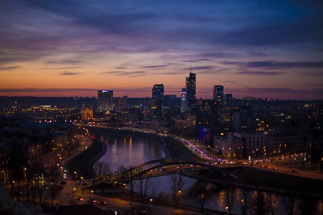 The Vilnius Skyline