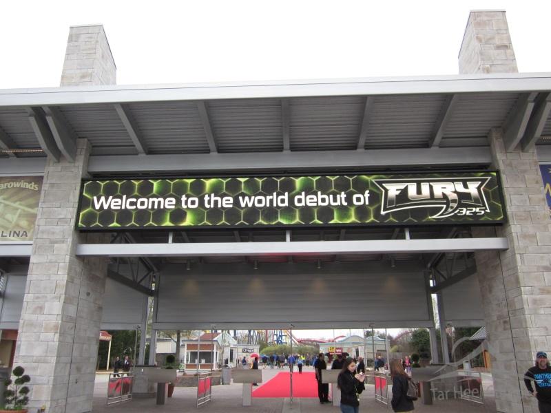 Fury 325 Opening