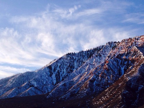 mountains sunrise landscape utah hills glenwoodsprings