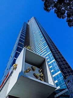 Melbourne Architecture In Autumn  Eureka Tower3 ( # 43 in series) - Melbourne AU 08Mar2015 sRGB web