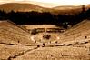 Ancient Theatre of Epidaurus #1 sepia