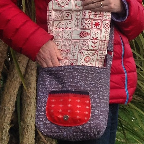 @the_littlest_thistle has just launched a new pattern for this messenger bag. It's a great size for me ❤️ I enjoyed pattern testing this one #TheLittlestThistleSewingPatterns