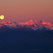 Full Moon over the Alps by Stefano De Rosa