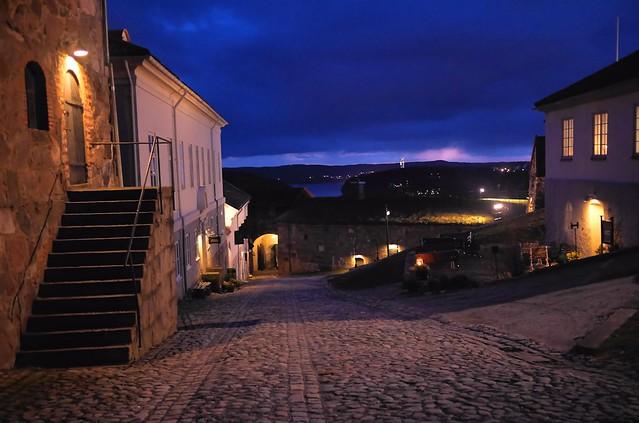 An evening visit to Fredriksten Fortress in Halden, Norway