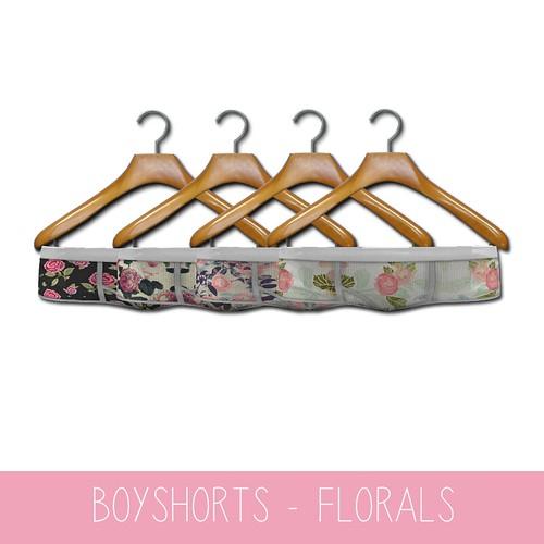 {MYNX} Boyshorts Pack - Florals