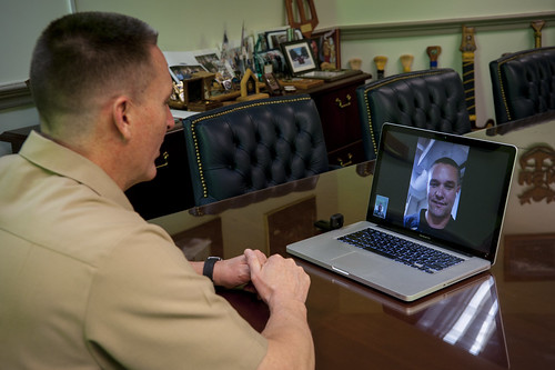 MCPON Takes a Virtual Tour of Deployed Littoral Combat Ship USS Fort Worth