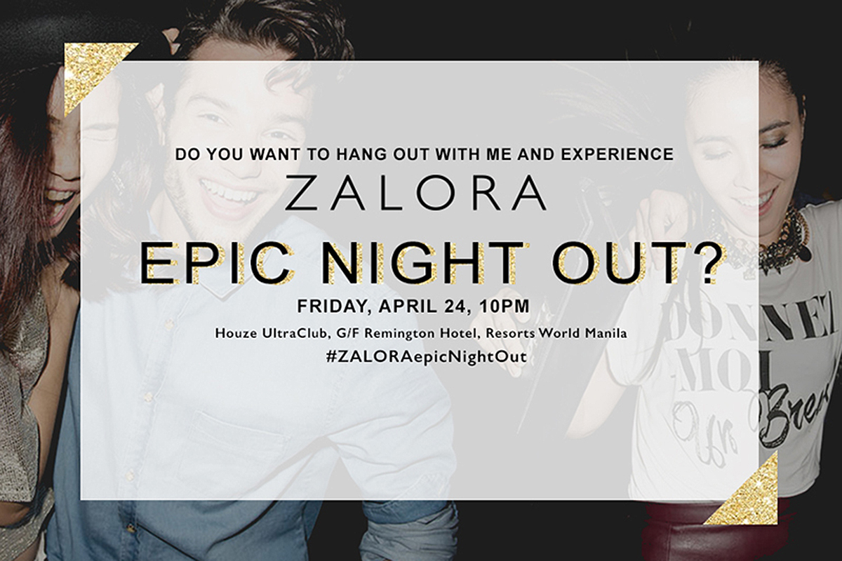 TRICE NAGUSARA ZALORA EPIC NIGHT OUT