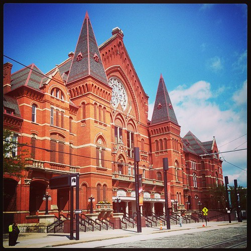 The majesty that is Cincinnati Music Hall...