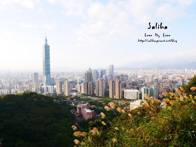 台北登山爬山象山步道 (1)