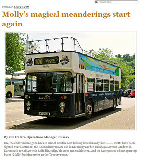 Molly's magical meanderings start again -